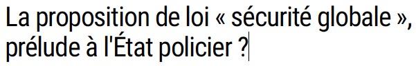 1 - état policier vincent b